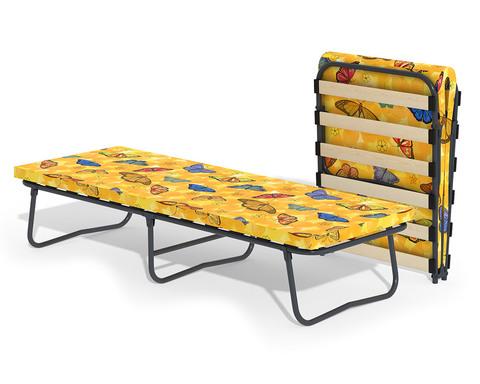 Раскладная кровать с матрасом и ламелями Гармония-2