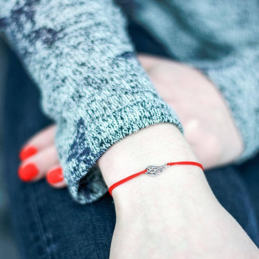 Angel Wing Bracelet, sterling silver