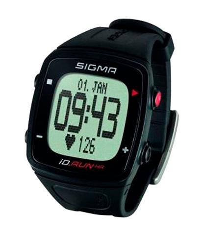 Часы спортивные SIGMA ID.RUN HR BLACK 24900