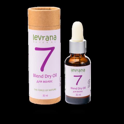 Сухое масло #7 для волос | 30 мл | Levrana