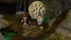 PSP LEGO Indiana Jones: The Original Adventures (английская версия, б/у)