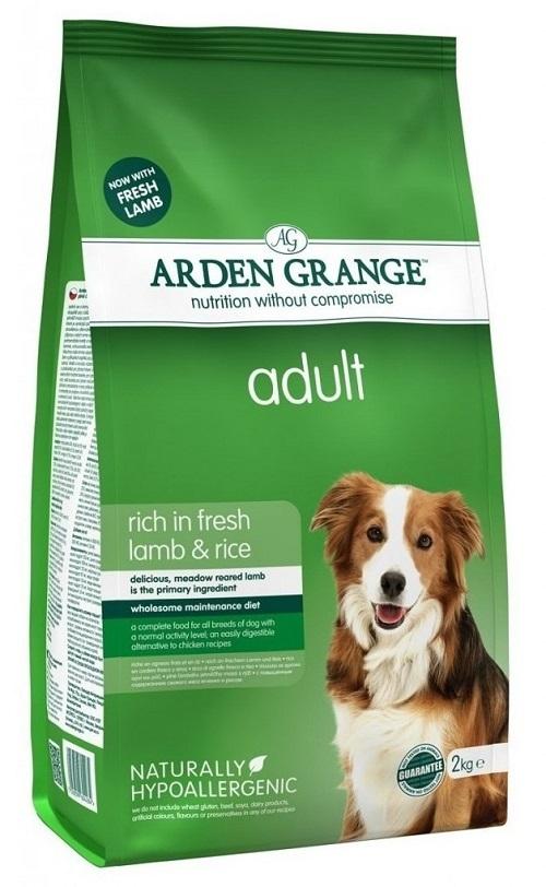 Каталог Сухой корм для взрослых собак, Arden Grange adult lamb & rice, с ягненком и рисом AG604284.jpg