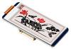 """Дисплейный модуль E-Ink для Raspberry Pi 2,13"""" / 212×104 / красный"""