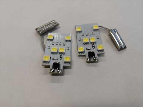 Светодиодная подсветка номера Lada XRAY