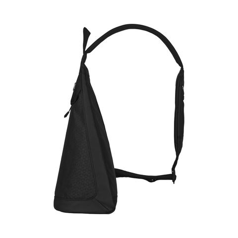 Рюкзак Victorinox Altmont Original, с одним плечевым ремнём, чёрный, 25x14x43 см, 7 л