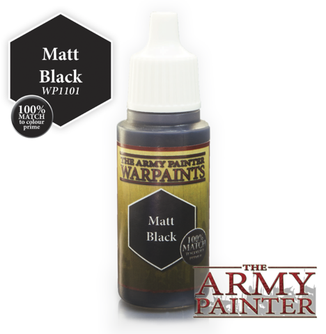 War Paints: Matt Black