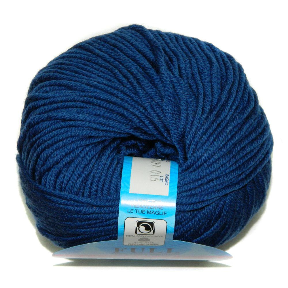 Пряжа BBB Filati Full 9509 темно-синий