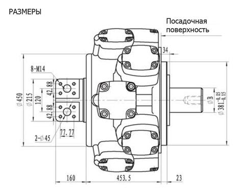 Гидромотор IPM10-7000