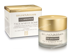 Крем-уход за кожей лица и шеи (Bruno Vassari | The Specifics | Face & Neck Some), 50 мл