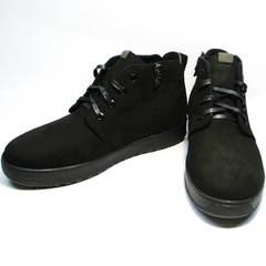 Ботинки мужские зимние кожаные Ikoc 1617-1 WBN