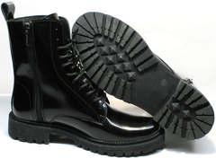 Теплые ботинки на зиму женские Ari Andano 740 All Black.