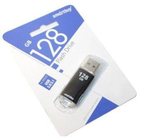 Флеш-накопитель 128GB 3.0 Smart Buy V-Cut чёрный