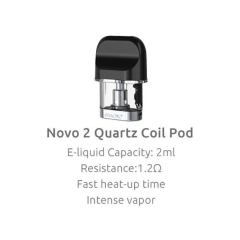 Картридж SMOK Novo 2 Quartz 1.4ohm 2ml Coil Pod