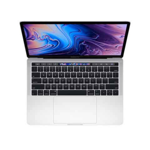 Apple MacBook Pro 13 Retina Touch Bar MV9A2 Silver (2,4 GHz, 8GB, 512Gb, Intel Iris Plus Graphics 655)