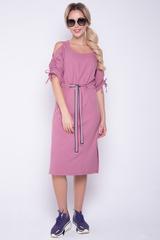 <p>Популярное летнее платье, отрезное по талии на кулиске из модной тесьмы. Рукав с утяжкой.</p>
