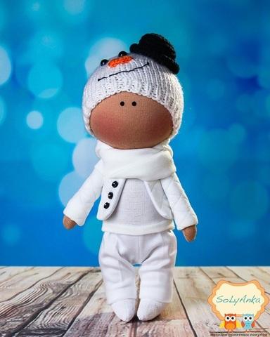 Лялька хлопчик Арнольд. Колекція La Petite.