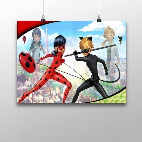 Плакат с Леди Баг и Супер Котом №3