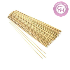 Бамбуковые палочки шпажки для декора, 30 см, 85-90 шт.