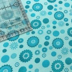 Ткань для пэчворка, хлопок 100% (арт. X0110)