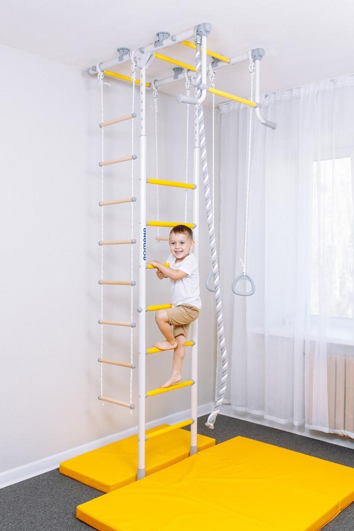 технику нанесения шведская стенка в доме фото вид