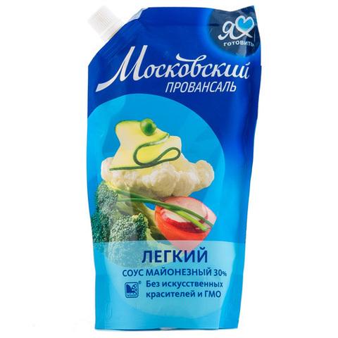 """Соус майонезный  легкий """"Московкий Провансаль"""" 30% 390мл"""