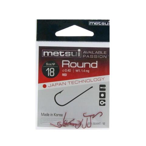 Крючки Metsui Round red № 18