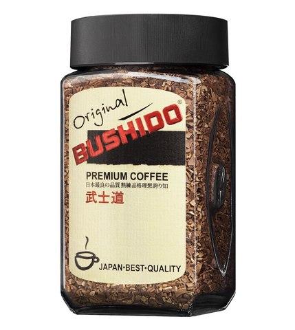 Кофе растворимый Original, Bushido, 100 г