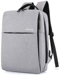 Рюкзак ROTEKORS 1701 USB Светло-серый