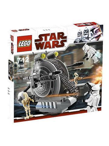 LEGO Star Wars: Танк-дроид 7748 — Corporate Alliance Tank Droid — Лего Стар ворз Звёздные войны