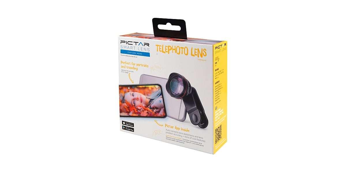 Телеобъектив Pictar Smart Lens Telephoto 60 для смартфона коробка