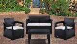 Комплект плетеной мебели Bica Rattan Comfort 4