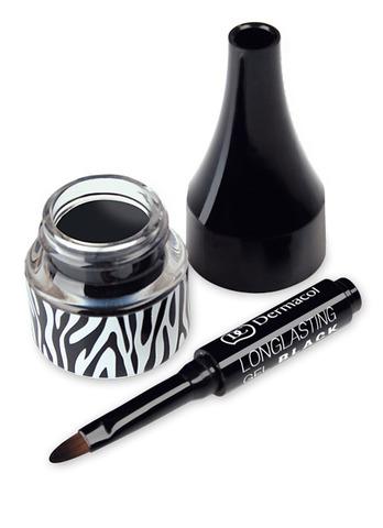 Dermacol Longlasting gel black Устойчивая гелевая подводка для глаз (черная), 5мл