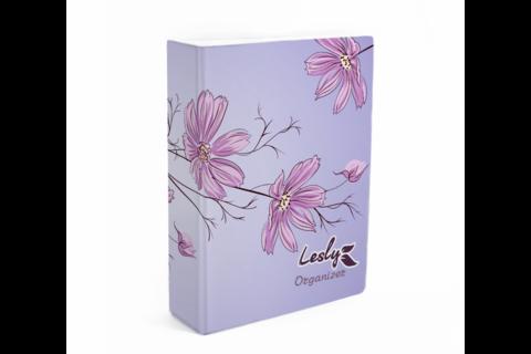 LESLY Органайзер для пластин Lesly (Цветы)