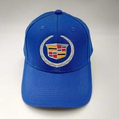 Кепка с логотипом Cadillac (Бейсболка Кадиллак ) синяя