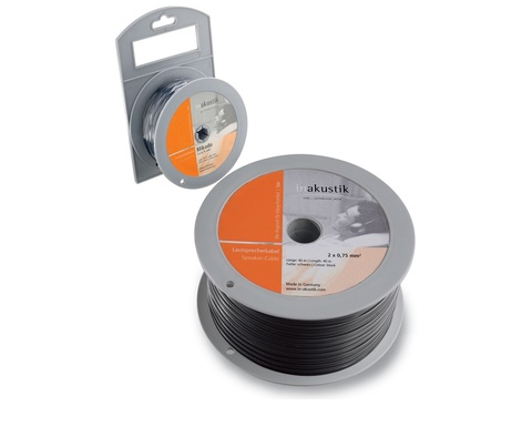 Inakustik Star LS cable, 2 x 1.5 mm2, Anthracite, 200 m,0030218