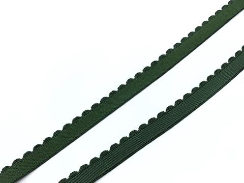 Резинка отделочная хаки 12 мм