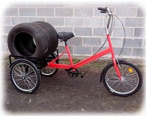 Трехколесные велосипеды грузоподъемностью до 200 кг