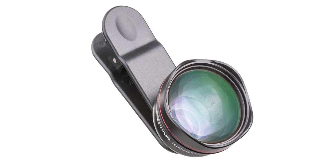 Телеобъектив Pictar Smart Lens Telephoto 60 для смартфона вид сверху