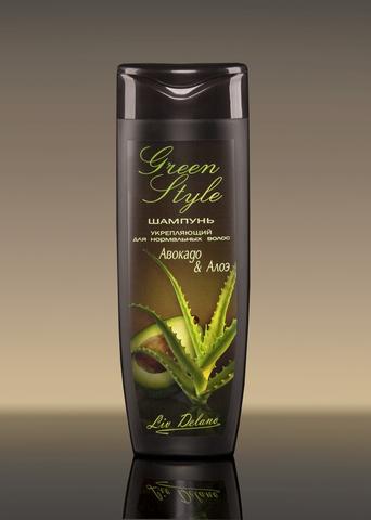 Liv delano Green Style Укрепляющий шампунь