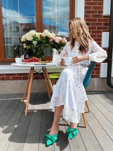 Платье - миди « White»