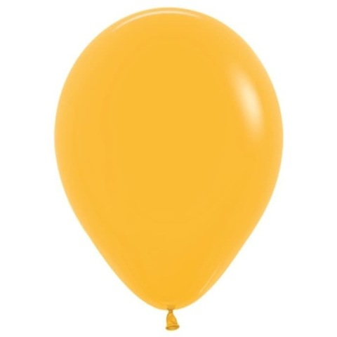 Шар Мандариновый Золотистый, 30 см