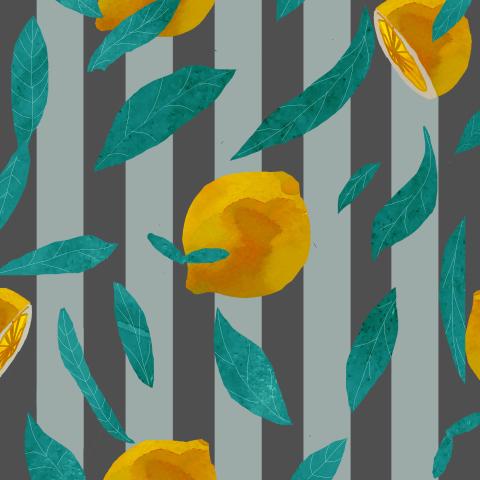 лимон вертикальный