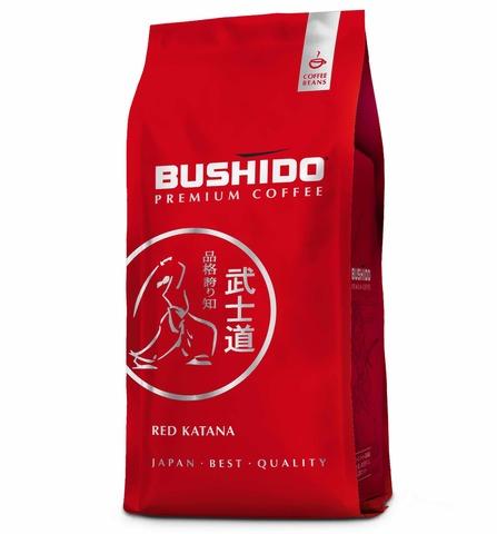 Кофе в зернах Red Katana, Bushido, 1 кг