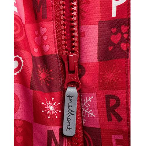 Комбинезон для девочки Premont Красные льдинки