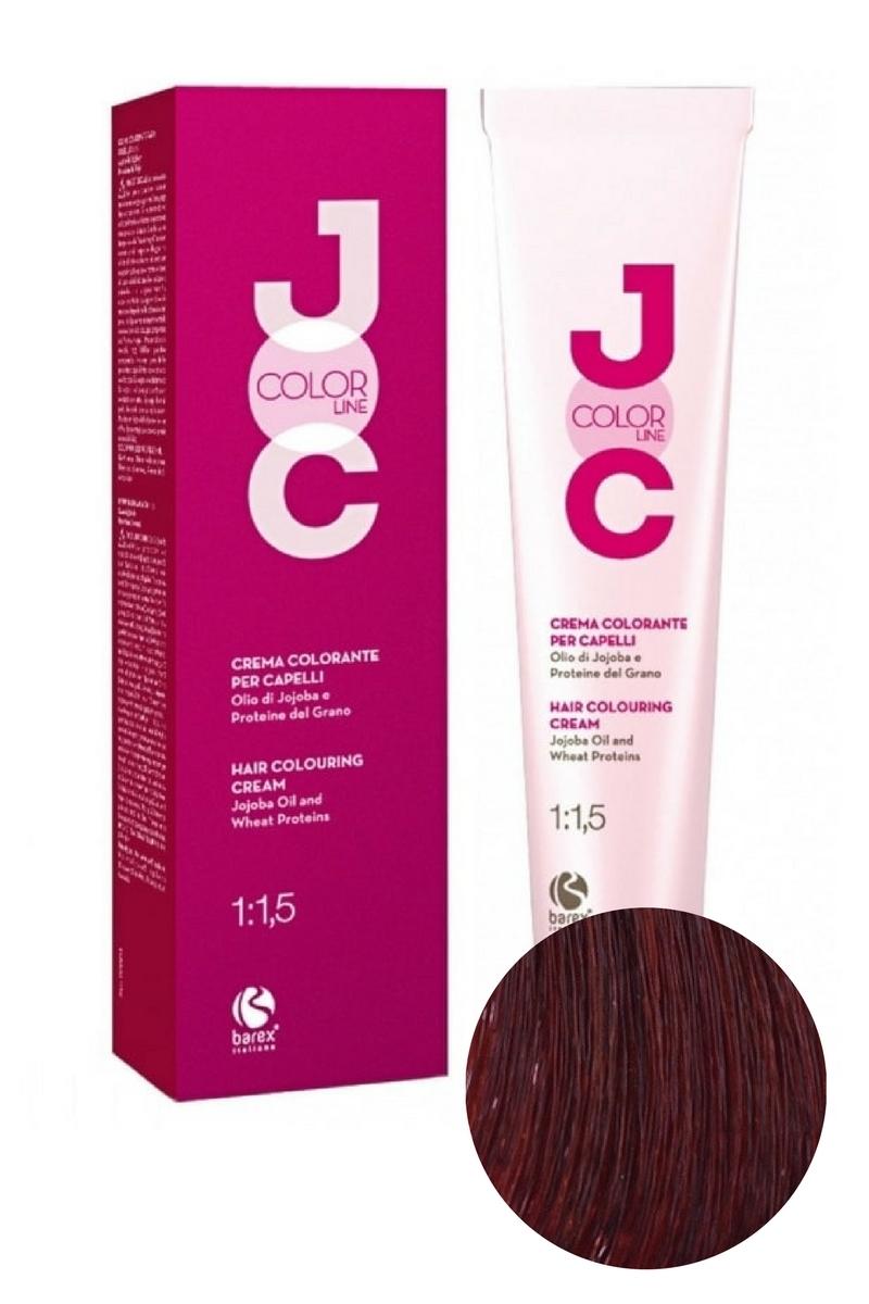 Крем-краска для волос 7.43 блондин медно-золотистый JOC COLOR, Barex