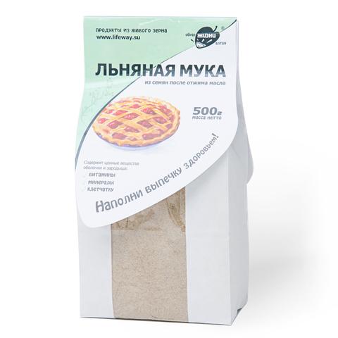 """Мука льняная """"Образ жизни"""" 500гр"""