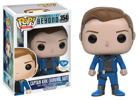 Star Trek Beyond Captain Kirk (Survivak Suit) Funko Pop! Vinyl Figure || Стар Трек Капитан Кирк