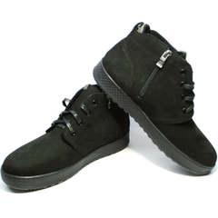 Зимние ботинки мужские кожаные Ikoc 1617-1 WBN.