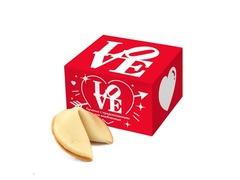 Печенье с предсказаниями LOVE (1 шт.)