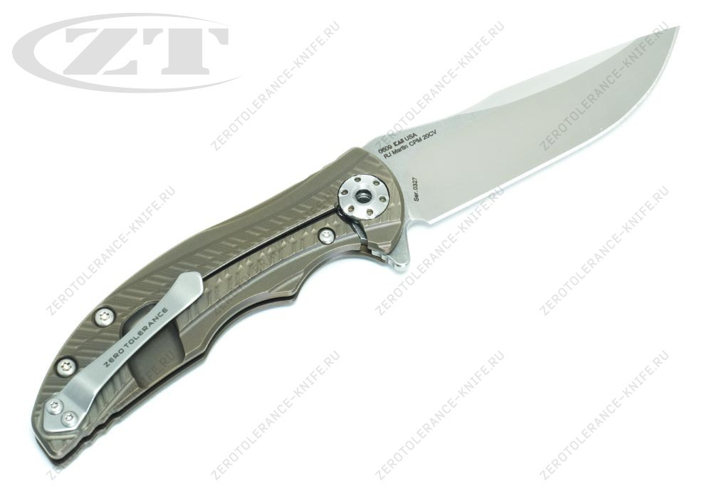 Нож Zero Tolerance 0609 RJ Martin - фотография